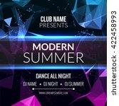 Modern Summer Club Music Party...