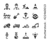 construction icons set 1 | Shutterstock .eps vector #422460013