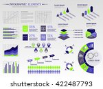 infographic elements collection ... | Shutterstock .eps vector #422487793