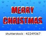 merry christmas | Shutterstock . vector #42249367