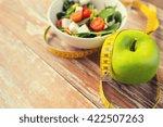 healthy eating  dieting ... | Shutterstock . vector #422507263