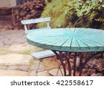 Table At Summer Terrace...