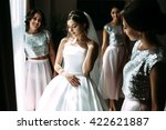 preparation to the wedding of... | Shutterstock . vector #422621887