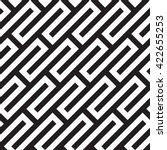 seamless checkered pattern ... | Shutterstock .eps vector #422655253