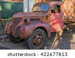 An Old Rusty Red Truck...