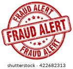 fraud alert. stamp | Shutterstock .eps vector #422682313