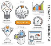 potential design concept ...   Shutterstock .eps vector #422695753