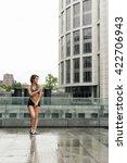 summer walk after the rain | Shutterstock . vector #422706943