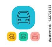 vector illustration of car icon