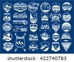 Vector Mountain Logo Emblem Se...
