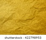 gold paper texture or background | Shutterstock . vector #422798953
