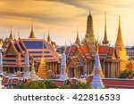 grand palace and wat phra keaw... | Shutterstock . vector #422816533