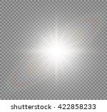 abstract image of lighting... | Shutterstock .eps vector #422858233