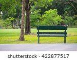 Bench In A Park  Park Bench