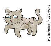 freehand drawn texture cartoon... | Shutterstock .eps vector #422879143