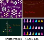 collection backgrounds for new... | Shutterstock .eps vector #42288136