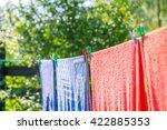 Clothespin Hanging On Washing...