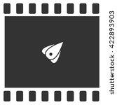rocket icon | Shutterstock .eps vector #422893903