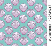Seashell Seamless Pattern....