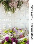 Background Wedding Lilac...