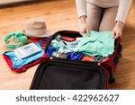 summer vacation  travel ... | Shutterstock . vector #422962627