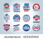 usa and made in the usa icons...