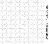 seamless geometric pattern.... | Shutterstock .eps vector #423109183