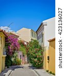 old plaka  athens  greece | Shutterstock . vector #423136027