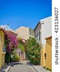 old plaka  athens  greece   Shutterstock . vector #423136027