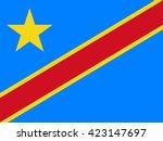 democratic republic of the... | Shutterstock .eps vector #423147697