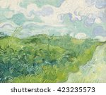 Green Wheat Fields  Auvers  By...