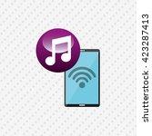wearable technology design  | Shutterstock .eps vector #423287413