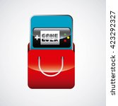 app store design  | Shutterstock .eps vector #423292327