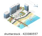 set of isolated high quality... | Shutterstock .eps vector #423380557