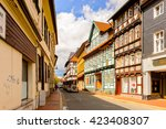 goslar  germany   may 4  2015   ... | Shutterstock . vector #423408307