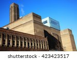 tate modern on the south bank... | Shutterstock . vector #423423517