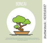 Bonsai Icon. Bonsai Art. Bonsa...