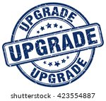 upgrade. stamp | Shutterstock .eps vector #423554887