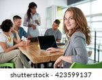 image of a succesful casual... | Shutterstock . vector #423599137