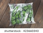 Packet Of Frozen Spinach On A...