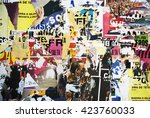 photo of urban collage... | Shutterstock . vector #423760033
