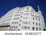 bbc broadcasting house built in ... | Shutterstock . vector #423825277