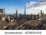 dubai  uae   november 14  2015  ... | Shutterstock . vector #423854143