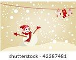 vector christmass background   Shutterstock .eps vector #42387481