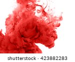 acrylic colors in water.... | Shutterstock . vector #423882283