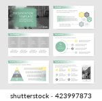 infographic elements for... | Shutterstock .eps vector #423997873