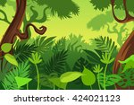 wildlife. vector illustration | Shutterstock .eps vector #424021123