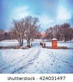 A Beautiful Winter Scene At...