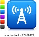 communication tower icon on...   Shutterstock .eps vector #42408124