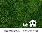 the family buys to itself the... | Shutterstock . vector #424291423